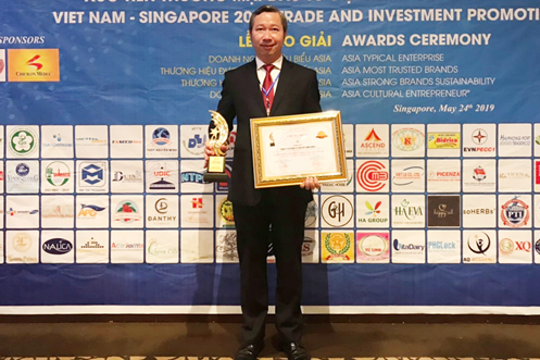 """PECC1 becomes one of """"Top 100 most trusted trademark in ASIA"""" at International Economic Forum ASIA 2019"""